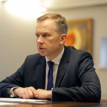 Latvijos centrinio banko vadovui I. Rimševičiui leista išvykti iš šalies