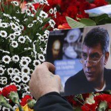Vilniuje bus paminėtos B. Nemcovo nužudymo metinės