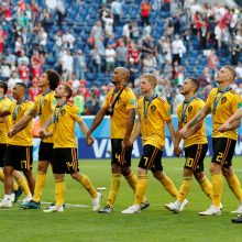 Belgijos futbolininkai mače dėl trečiosios vietos pranoko anglus