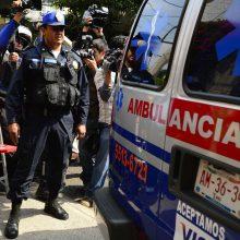 Kolumbijoje nuslinkus žemės nuošliaužai žuvo mažiausiai 14 žmonių