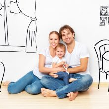 Už skolintas lėšas būstus perkančioms jaunoms šeimoms siūloma notarinė lengvata