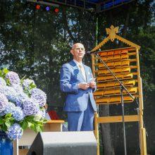 Kretingiškiai plūdo į dvaro šventę