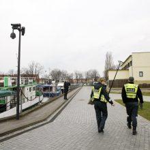 Mieste siautėja ratuoti chuliganai