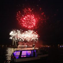 Laivų paradas sudrebino Klaipėdą