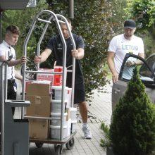 """""""Žalgiris"""" M. Grigonio ateitį Kaune užsitikrino ankstyvu ėjimu"""