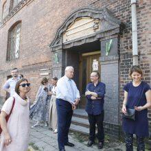 Vyriausybės tyla kelia nerimą: kam atiteks Jūros gatvėje esantis pastatas?