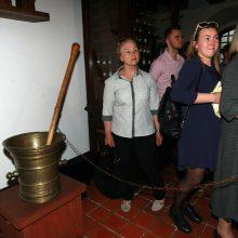 """""""Muziejų naktis"""" Kaune: nuo arbatos skonio iki technikos galimybių"""
