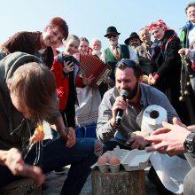 Rumšiškėse – margos Velykų linksmybės