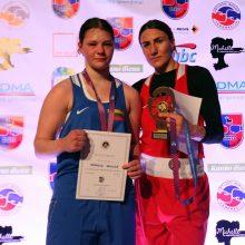 A. Šociko bokso turnyre – rekordinis čempiono titulas ir pasaulio čempionės triumfas