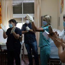 Argentina pradėjo skiepijimą rusiška vakcina