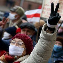 JT: žmogaus teisių padėtis Baltarusijoje blogėja