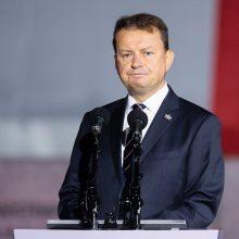 Lenkijos gynybos ministrui nustatyta COVID-19
