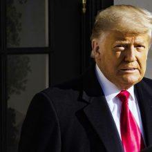 JAV Atstovų Rūmai sprendžia D. Trumpo nušalinimo klausimą <span style=color:red;>(vaizdo įrašas)</span>
