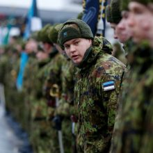 JAV gali skirti 200 mln. eurų Estijos gynybai stiprinti
