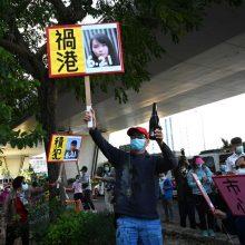 Honkonge trims disidentams skirtos įkalinimo bausmės