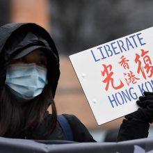 Valdžia sudavė dar vieną smūgį Honkongo demokratams
