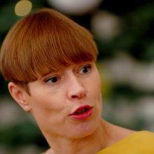 Estija siūlo prezidentę K. Kaljulaid skirti EBPO generaline sekretore