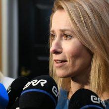 Estijos prezidentė patvirtino Kają Kallas kandidate į premjerus