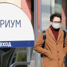 Rusijoje – per 8 tūkst. naujų COVID-19 atvejų