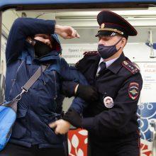 Rusijoje fiksuotas didžiausias nuo pandemijos pradžios COVID-19 atvejų skaičius