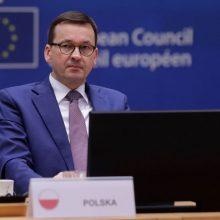 Lenkija ragina ES ginti žodžio laisvę nuo socialinių tinklų cenzūros