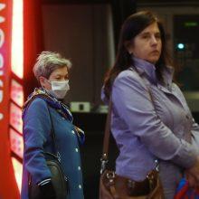 Rusijoje užfisuota beveik 6 tūkst. naujų koronaviruso atvejų