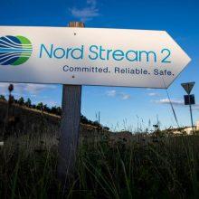 """Abeji JAV Kongreso rūmai įtraukė į gynybos biudžetą sankcijas """"Nord Stream 2"""""""