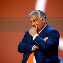 V. Orbanas: EK vicepirmininkė įžeidė Vengriją ir jos žmones
