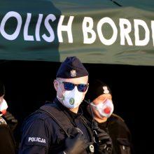 Lenkijoje sulaikytas priklausymu teroristinei organizacijai įtariamas vokietis