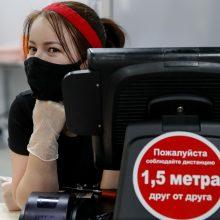 Rusijoje – beveik 16 tūkst. naujų COVID-19 atvejų