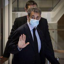 Prancūzijos prokuratūra tiria N. Sarkozy konsultacinę veiklą Rusijoje