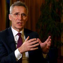 NATO vadovas paragino Rusiją išvesti pajėgas iš Abchazijos ir Pietų Osetijos