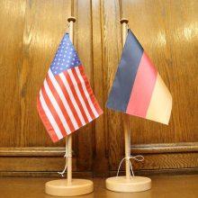 """Vokietija atmetė JAV siūlymą skelbti moratoriumą """"Nord Stream 2"""" projektui"""