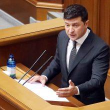 Ukrainos prezidentas siūlo nutraukti visų Konstitucinio Teismo teisėjų įgaliojimus