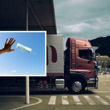 Anglijoje lietuvis be jokio perspėjimo atleistas iš darbo: vairuodamas sunkvežimį nedėvėjo kaukės