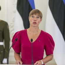 Minint diplomatinių santykių 100-metį Lietuvoje laukiama Estijos prezidentė