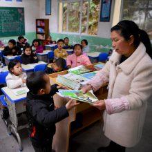 Kinija uždraudė griežtų bausmių taikymą mokyklose