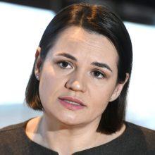 S. Cichanouskaja: Kremlius ignoravo baltarusių opozicijos mėginimus užmegzti ryšius