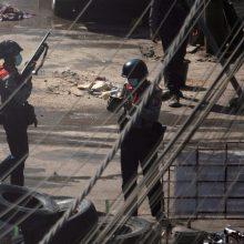 JT teisių komisarė ragina Mianmaro kariuomenę liautis žudyti protestuotojus