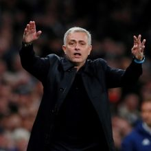 """Oficialu: """"Tottenham"""" atleidžia J. Mourinho"""