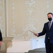 Kultūros ministerijoje pagerbtas Metų vertėjo krėslo premijos laureatas A. Musteikis