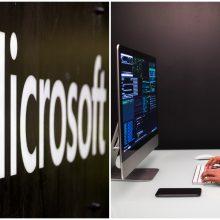 """""""Microsoft"""" apkaltino kinų programišių grupuotę surengus kibernetines atakas JAV"""