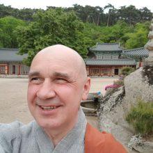 Teatro sceną į vienuolyną išmainęs K. Marčiulynas-Bo Haeng Sunimo: esu vien Amžinybės Prisiminimas
