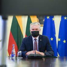 G. Nausėda ragina ES kartu boikotuoti Astravo elektrą