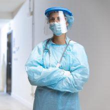 Čekijos ligoninėse gydomas rekordinis COVID-19 pacientų skaičius