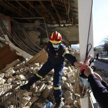 Graikija vertina 6,3 balo žemės drebėjimo žalą