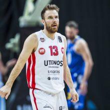 Krepšininkas M. Gecevičius norėtų žaisti iki 35-erių