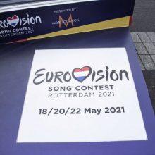 """Aiškėja """"Eurovizijos"""" scenarijus: į areną galės atvykti žiūrovai"""