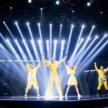 """Šių metų """"Eurovizijoje"""" lietuvių atstovai """"The Roop"""" pasirodys pirmieji"""