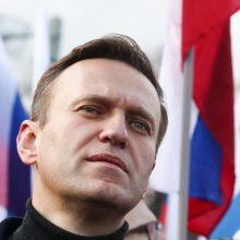 A. Navalno baudžiamąjį persekiojimą jo advokatas sieja su būsimais rinkimais